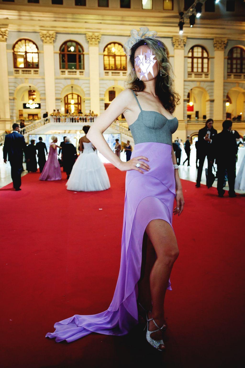 Дизайнерское вечернее платье, обувь, украшение для волос