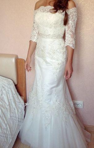 Свадебное, бальное платье