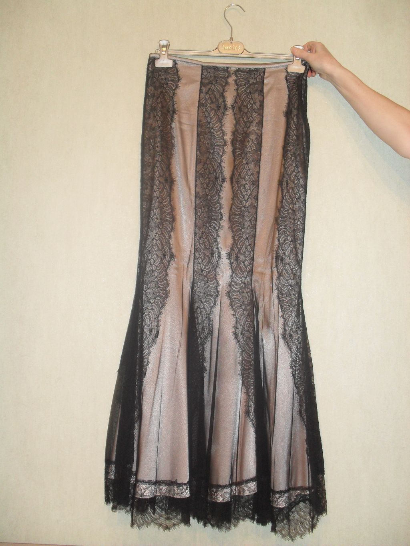 Вечерняя юбка полной длины