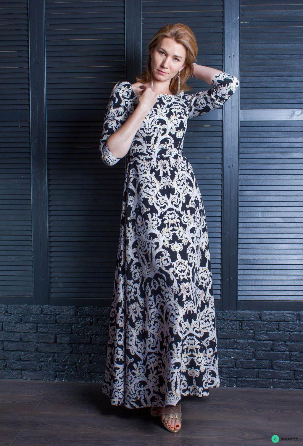 Вечернее платье осень-зима