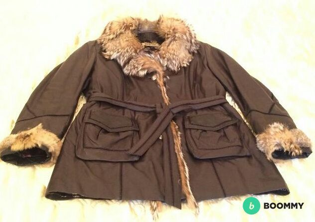 Куртка кожанная (утепленная) с меховой подстежкой