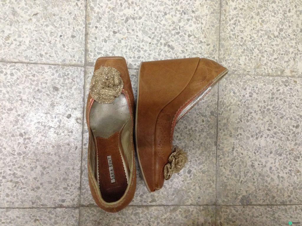 Кожаные туфли Sara Kent