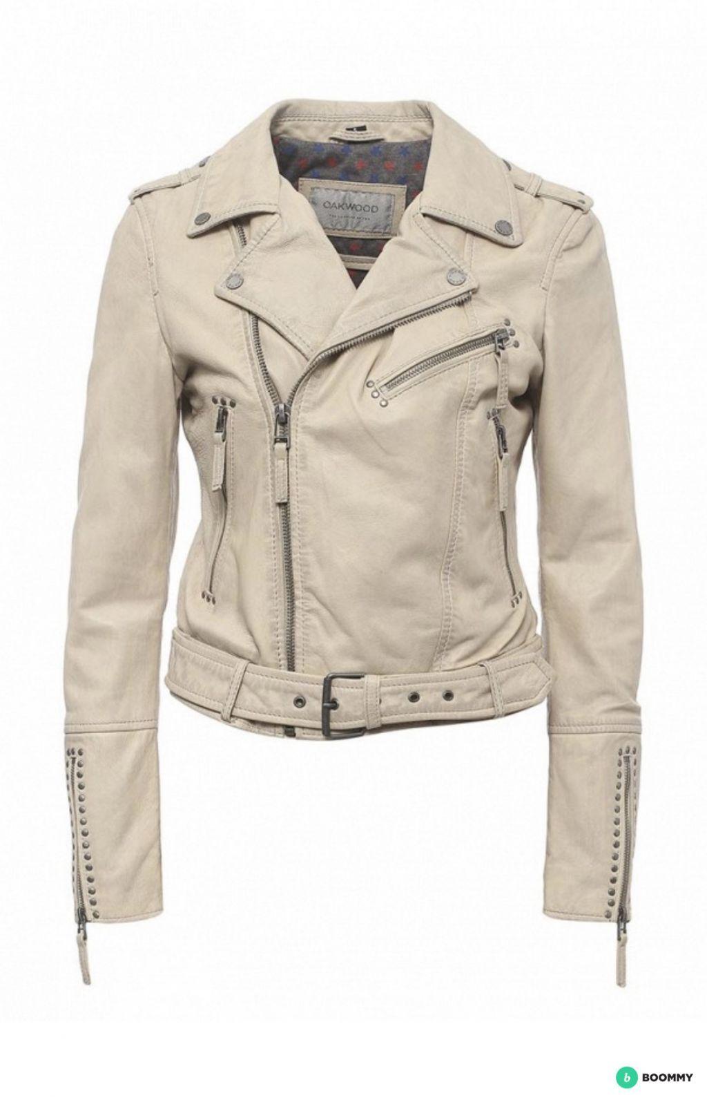 Кожаная куртка-косуха Oakwood