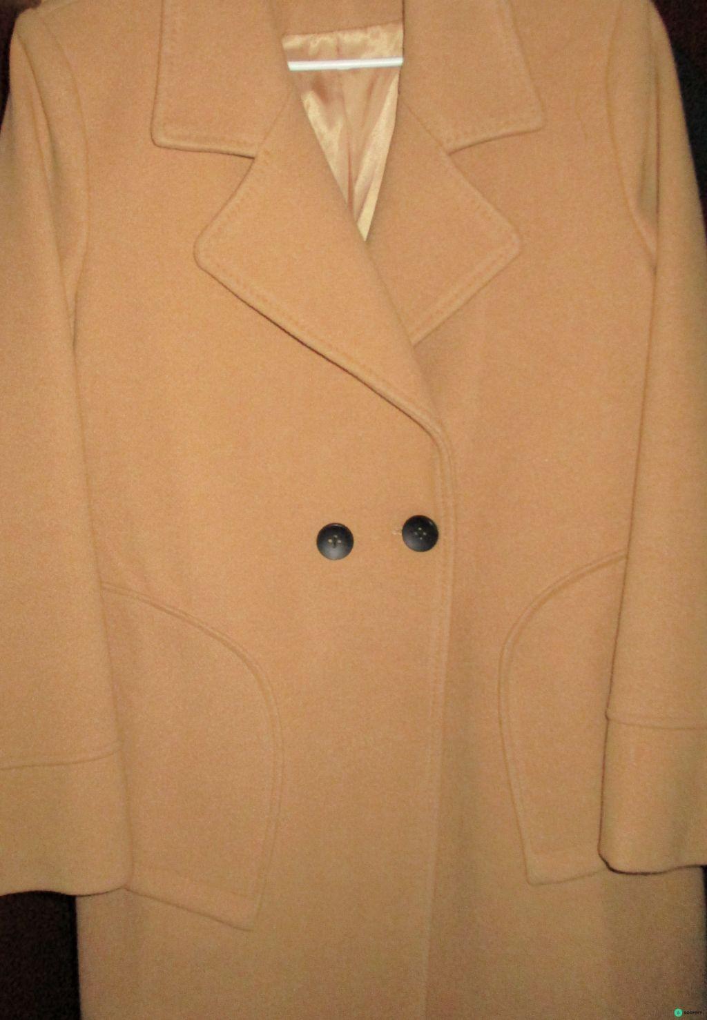 Пальто кашемировое новое 44-46 размер