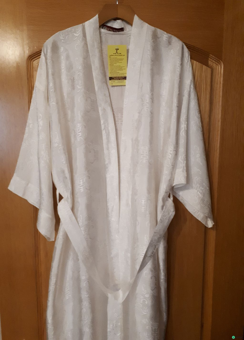 Новый шелковый халат