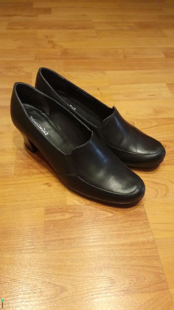 Кожаные туфли Thomas Munz