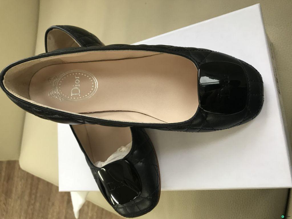 Туфли для девочки DIOR новые