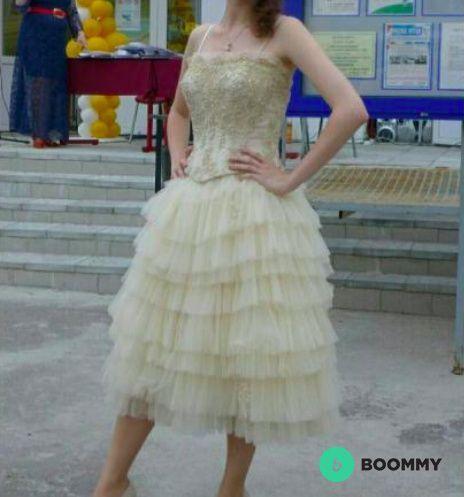 Выпускное, свадебное платье SINCERITY