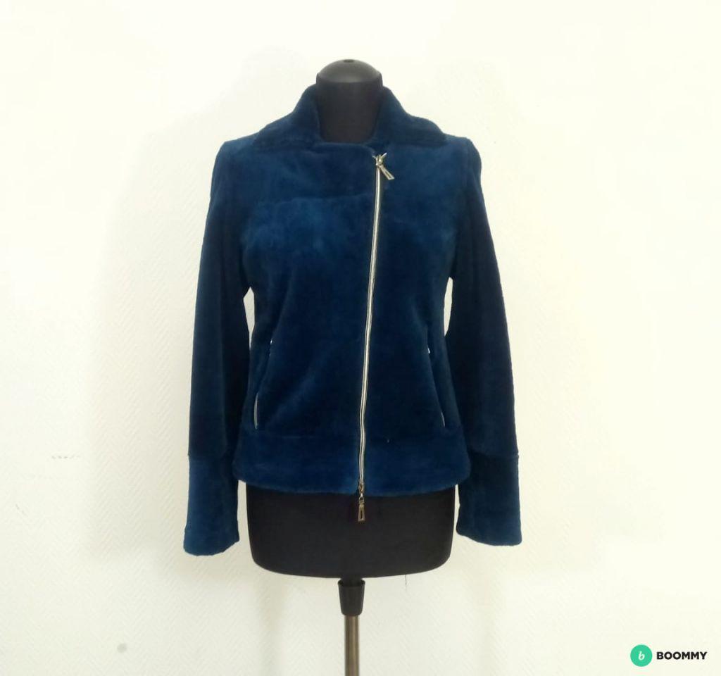 Женская куртка из меха бобра