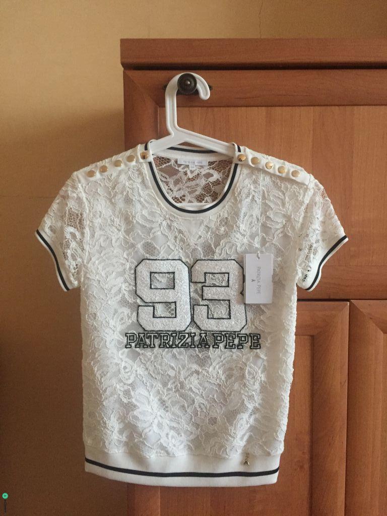 НОВАЯ (с ярлыками) футболка Patrizia Pepe