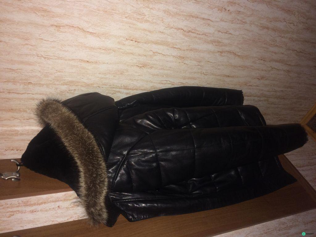 Продажа кожаной зимней куртки. Торг возможен