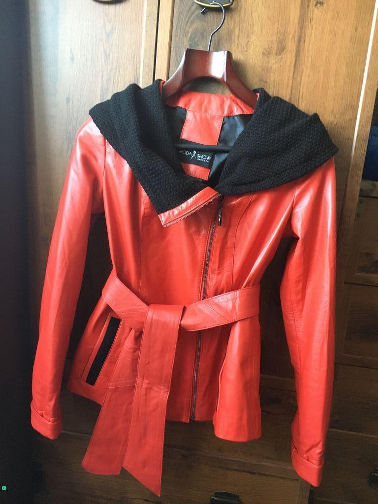 Новая куртка из мягкой кожи