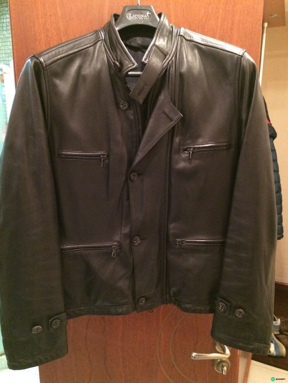 Кожаная куртка Cortigiani