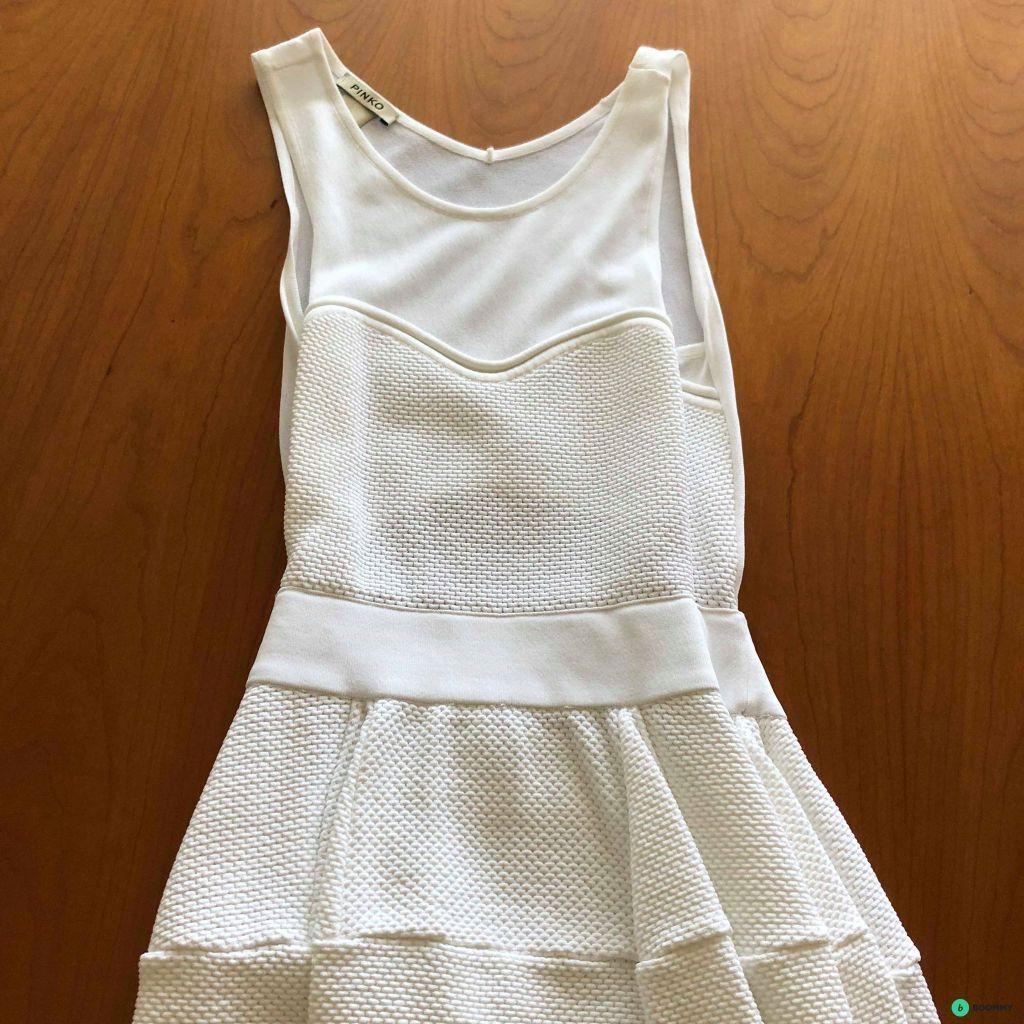 Платье Pinko белое