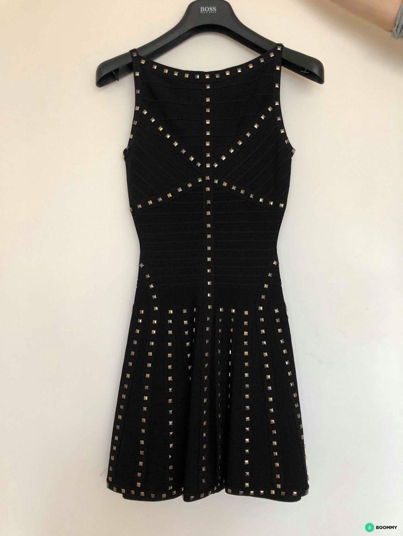 Платье Herve Leger черное