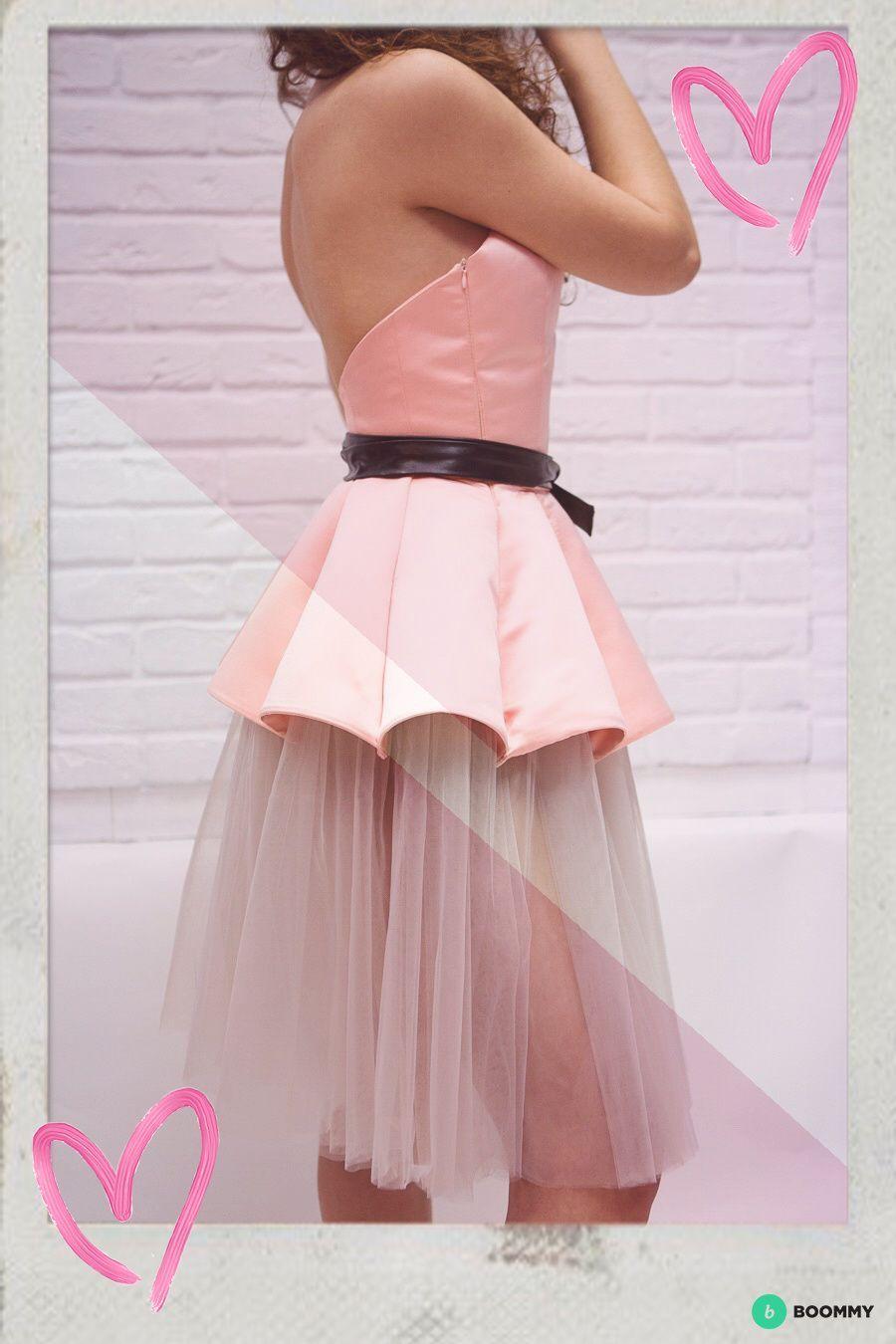 Платье с клиньями