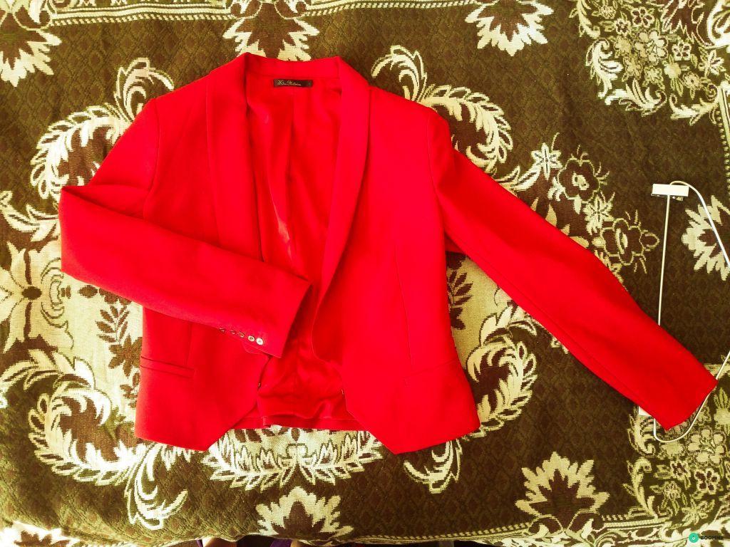 Отличный красный пиджак от Киры Пластининой!
