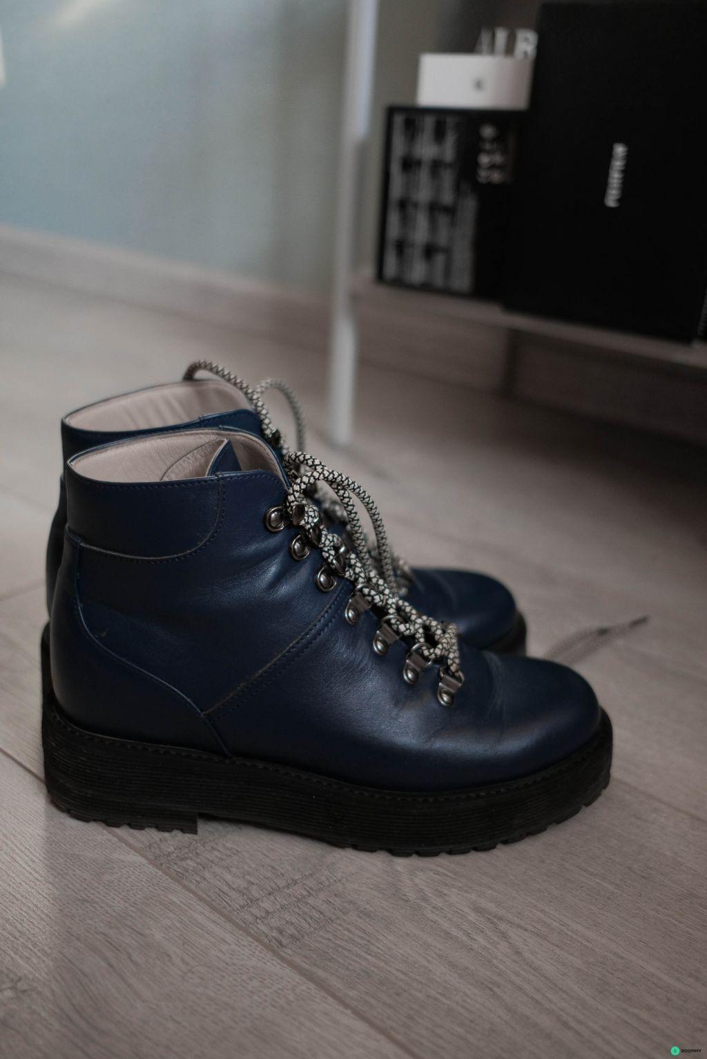 Кожаные ботинки Vanlim 38 размер