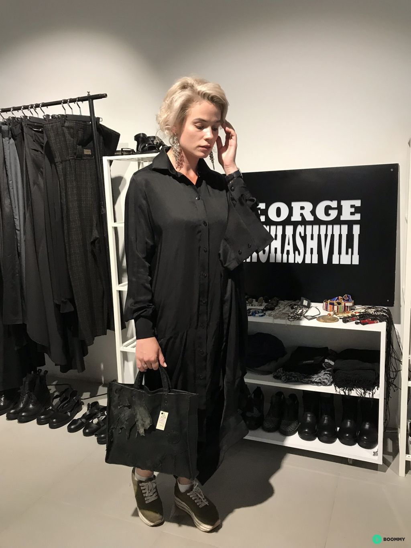 Шелковое платье Джорджа Шагашвили