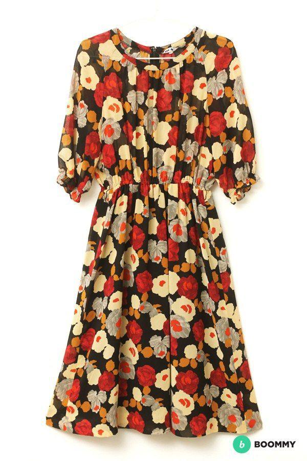 Японский винтаж. Платье.