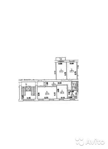 4-к квартира, 99 м², 3/8 эт.