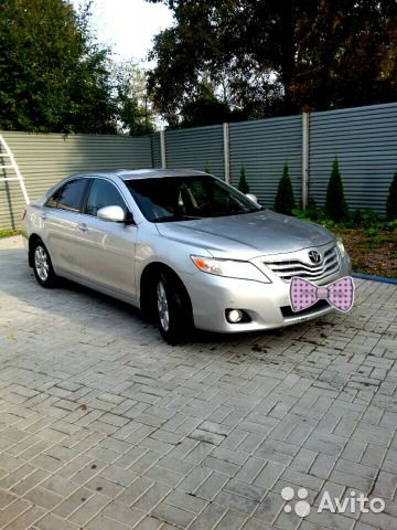 Toyota Camry 2.4 AT, 2010, седан