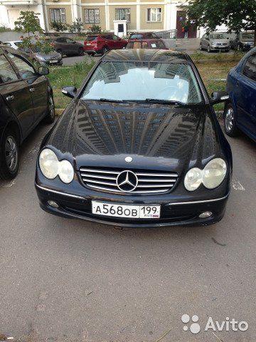 Mercedes-Benz CLK-класс 2.0AT, 2003, купе