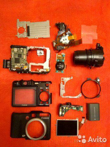 Canon G7 фотоаппарат как новый но