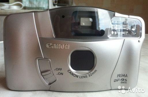 Продам плёночный фотоаппарат Canon Prima BF-9s dat