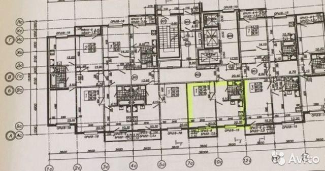1-к квартира, 38.4 м², 13/25 эт.