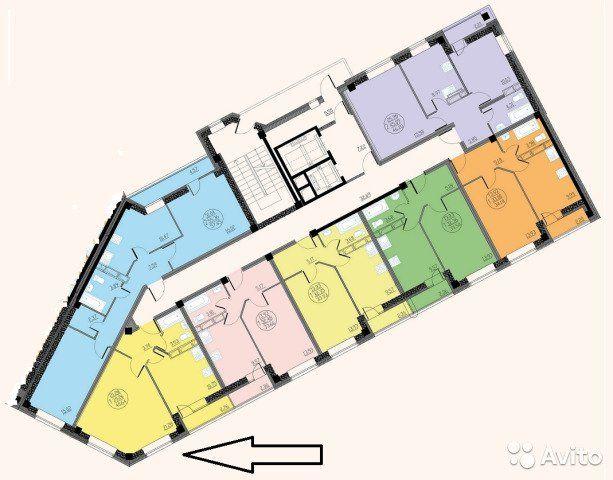 1-к квартира, 40.6 м², 4/16 эт.