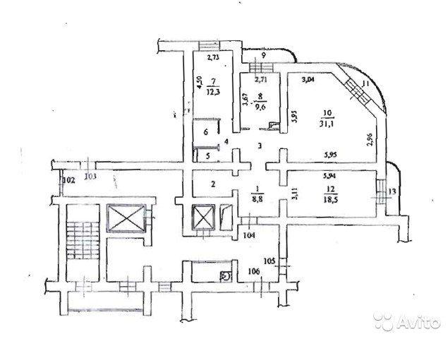 3-к квартира, 98.5 м², 10/15 эт.