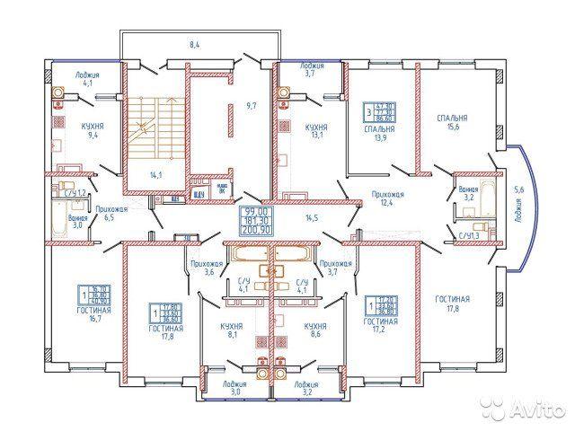 1-к квартира, 36.6 м², 12/18 эт.
