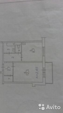 1-к квартира, 32 м², 2/10 эт.
