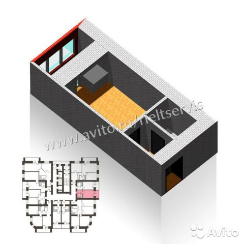 Студия, 25 м², 12/16 эт.