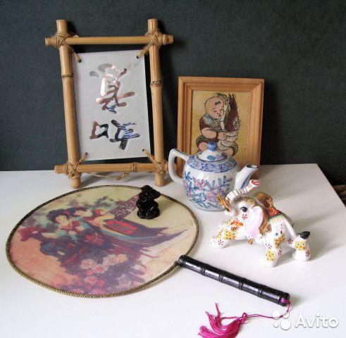 Коллекция китайских предметов интерьера