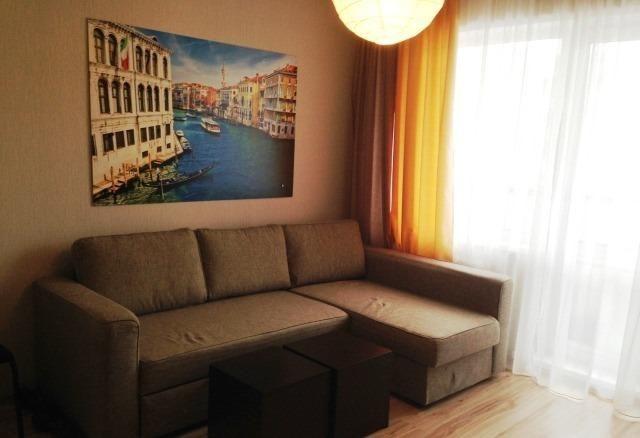 Квартира, свободная планировка, 28 м²