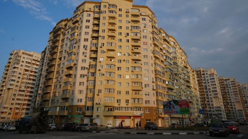 1-комнатная квартира (43.5 м²)