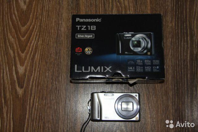 Фотоаппарат Panasonic DMC-TZ-18