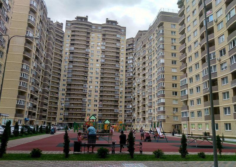 1-комнатная квартира (43.8 м²)