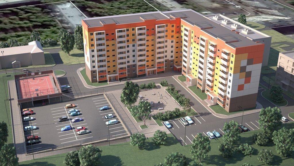 2-комнатная квартира (40.8 м²)