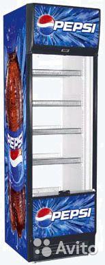 Холодильный шкаф среднетемпературный Helkama Pepsi