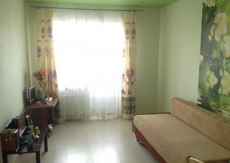 1-комнатная квартира (39.4 м²)