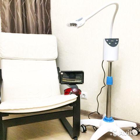 Отбеливание зубов leg лампа с расходными материала