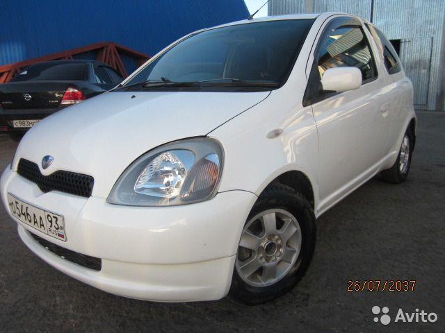 Toyota Vitz 1.0AT, 2001, купе