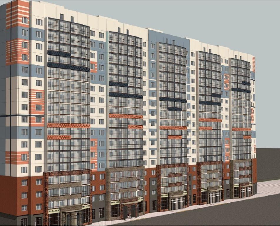 2-комнатная квартира (64.92 м²)