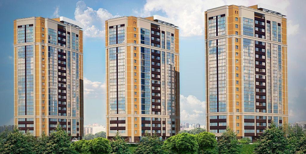1-комнатная квартира (33.79 м²)