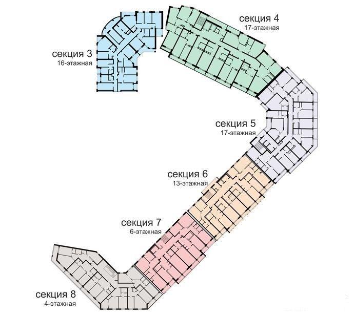 1-комнатная квартира (37.44 м²)