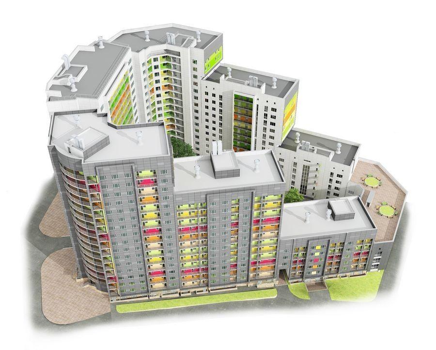 1-комнатная квартира (32.8 м²)